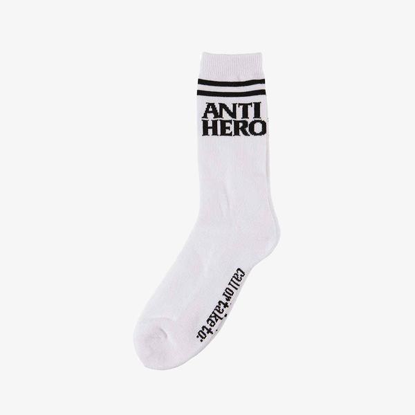 CALCETINES ANTI HERO IF FOUND - BLACK/WHITE