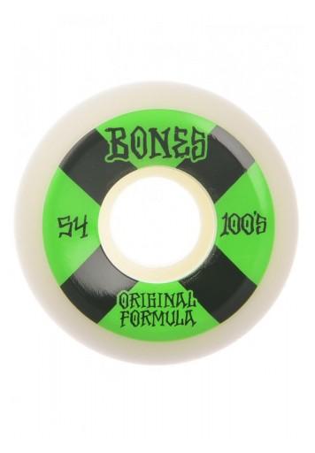 RUEDAS BONES 100 #4 54MM OG FORMULA V5 SIDECUT
