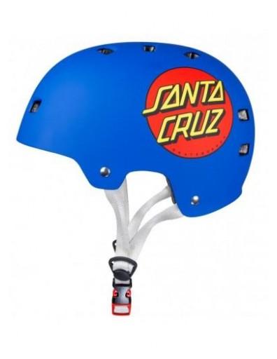 CASCO BULLET X SANTA CRUZ CLASSIC DOT - MATT BLUE