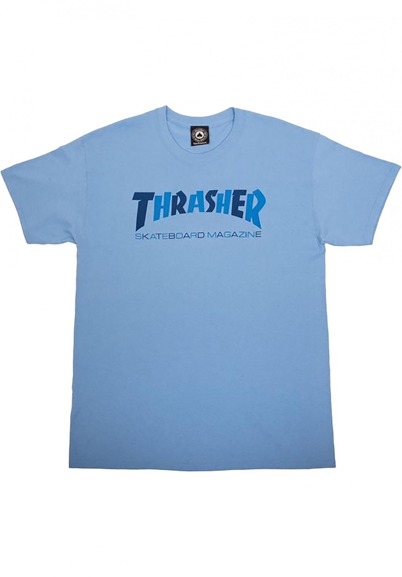 CAMISETA THRASHER CHECKERS TEE - BLUE