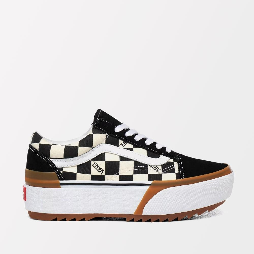 ZAPATILLAS VANS OLD SKOOL STACKED (CHECKERBOARD) - MULTI / TRUE