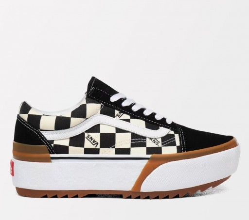 ZAPATILLAS VANS OLD SKOOL STACKED (CHECKERBOARD) - MULTI / TRUE  [0]