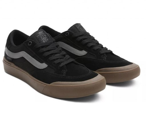 ZAPATILLAS VANS BERLE PRO - BLACK/ DARK GUM