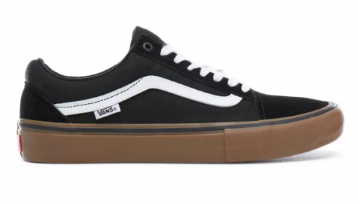VANS OLD SKOOL PRO - BLACK/GUM