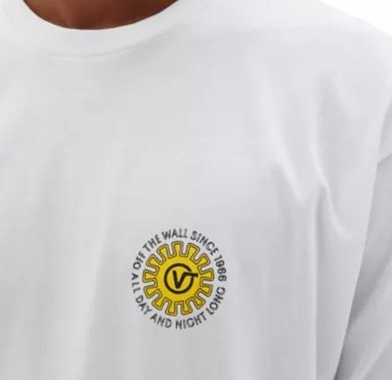 CAMISETA VANS DAY AND NIGHT SS - WHITE [1]