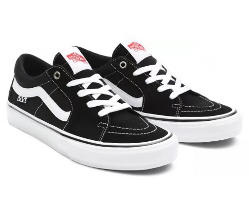 ZAPATILLAS VANS SKATE SK8-LOW - BLACK/WHITE