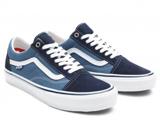 ZAPATILLAS VANS SKATE OLD SKOOL - NAVY/WHITE