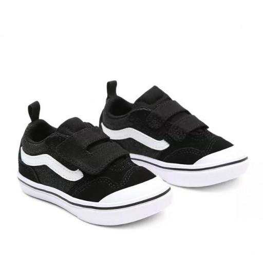 ZAPATILLAS VANS COMFYCUSH NEW SKOOL - GLITTER BLACK / TRUE WHITE [0]