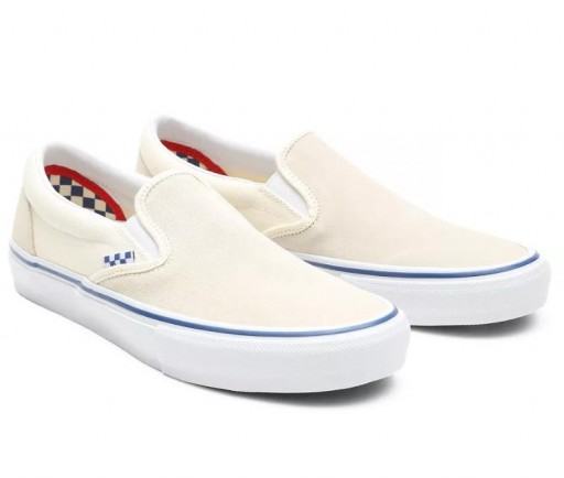 ZAPATILLAS VANS SKATE SLIP-ON - OFF WHITE