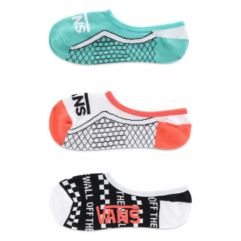 CALCETINES VANS INVISIBLES TRUE SOLES (3 PARES)