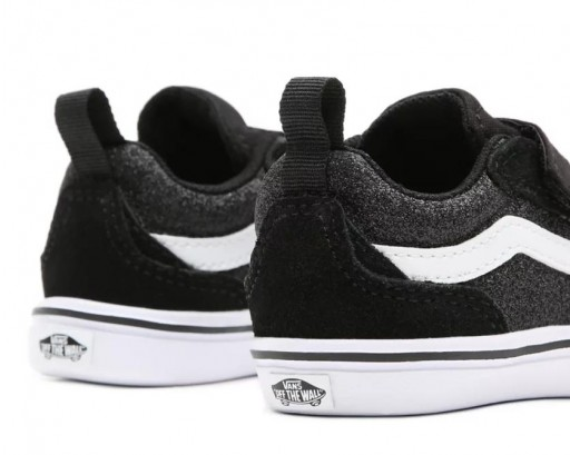 ZAPATILLAS VANS COMFYCUSH NEW SKOOL - GLITTER BLACK / TRUE WHITE [2]
