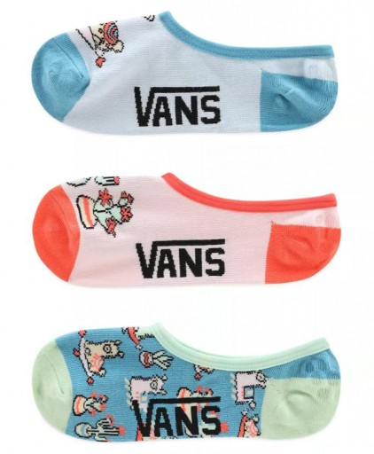 CALCETINES VANS INVISIBLES LLAMA LOVER (3 PARES)