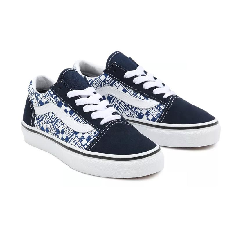 ZAPATILLAS VANS OLD SKOOL V OFF THE WALL - DRESS CLUES / TRUE WHITE