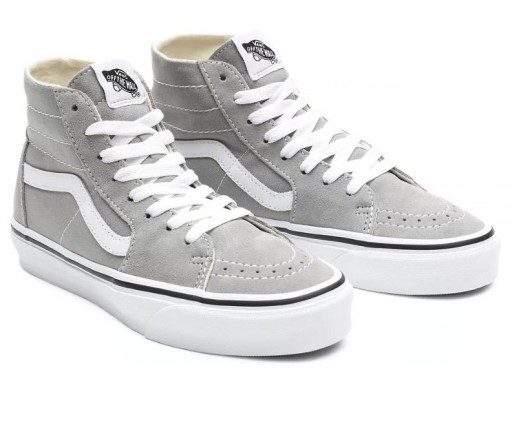 ZAPATILLAS VANS SK8-HI TAPERED - DRIZZLE/TRUE WHITE