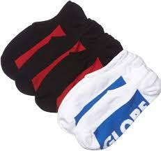 Globe Invisible Sock 5 Pack