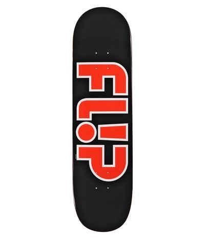 "TABLA SKATE FLIP TEAM OUTLINED BLACK 8.5"""