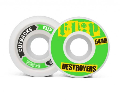 RUEDAS FLIP CUTBACK DESTROYERS 54MM