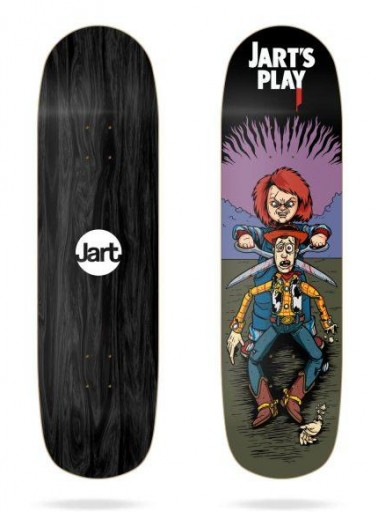 TABLA SKATE JARTS PLAY 8.5'' POOL BEFORE DEATH