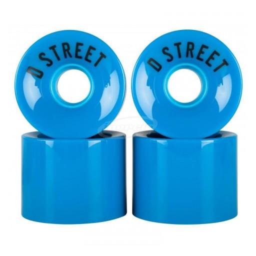 RUEDAS D-STREET 59 CENT 78A (4 PACK) - AZUL