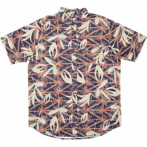 CAMISA SALTY CREW LAY DAY SS WOVEN - NAVY