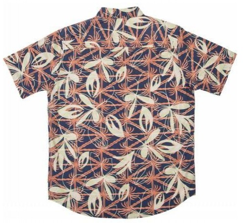 CAMISA SALTY CREW LAY DAY SS WOVEN - NAVY [1]