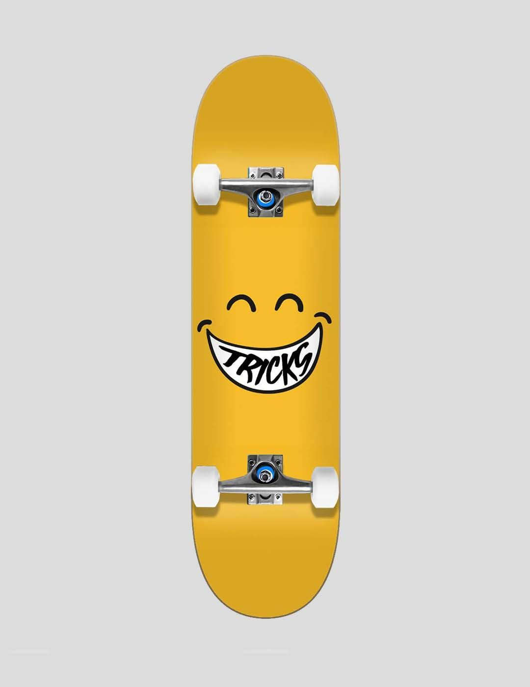 "SKATE COMPLETO TRICKS SMILEY 7.375"""
