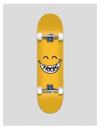 "SKATE COMPLETO TRICKS SMILEY 7.375"" [0]"