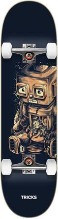 SKATE COMPLETO TRICKS ROBOT 8.0¨X 31.85¨