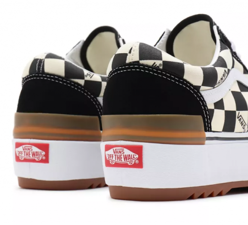 ZAPATILLAS VANS OLD SKOOL STACKED (CHECKERBOARD) - MULTI / TRUE  [1]