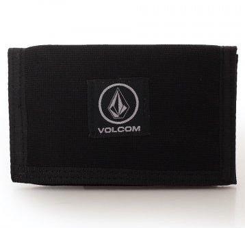 CARTERA VOLCOM BOX STONE - BLACK