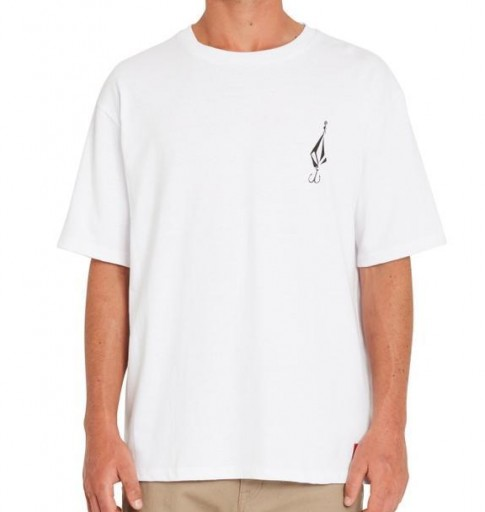 CAMISETA VOLCOM LOOSE TRUCKS LSE SS - WHITE