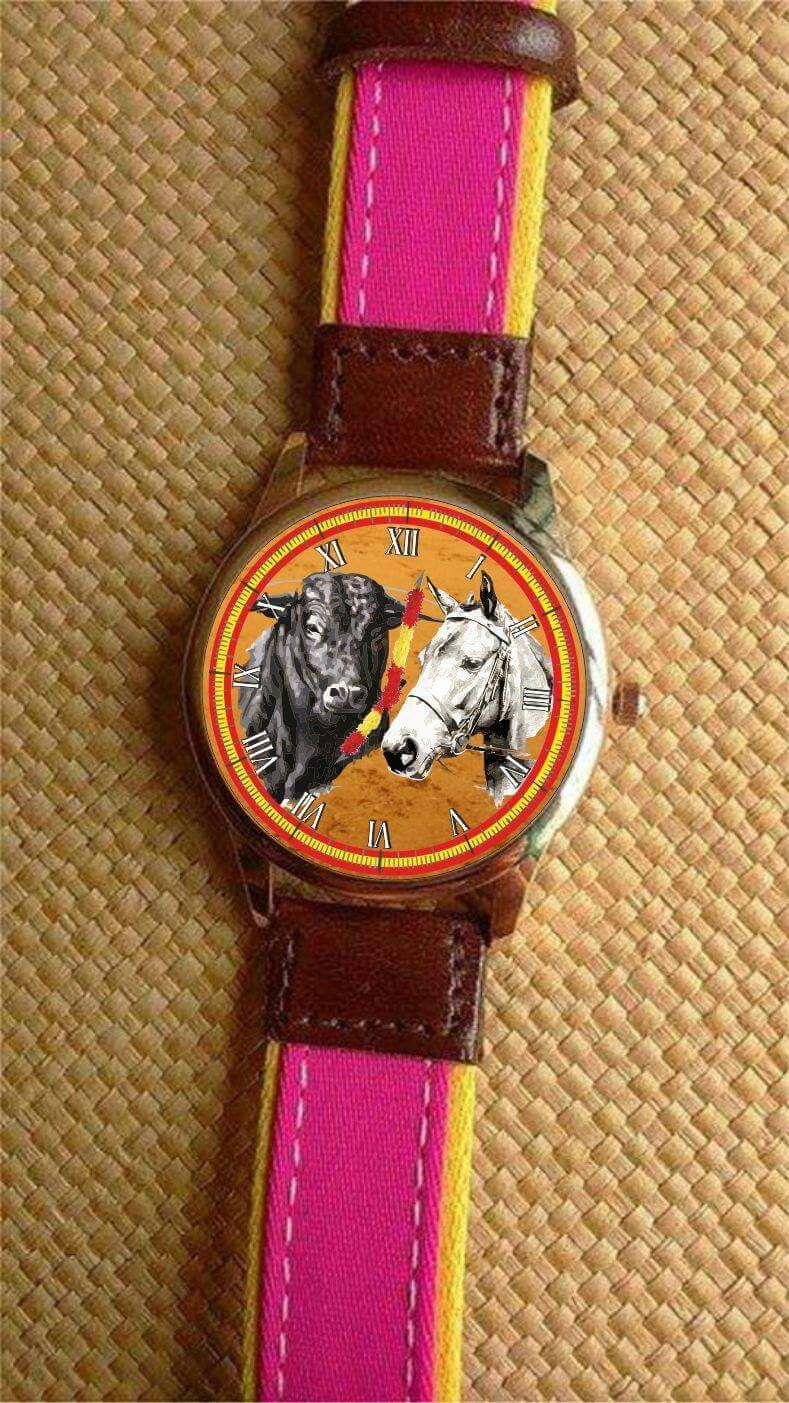 Reloj Tauromaquia y Rejoneo Personalizado