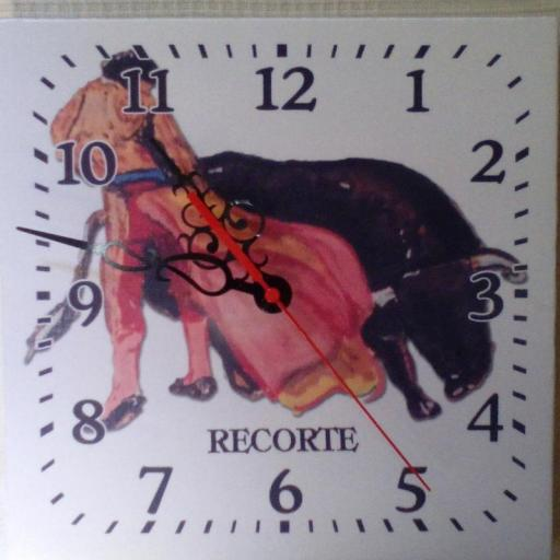 Reloj personalizado de Pared [3]