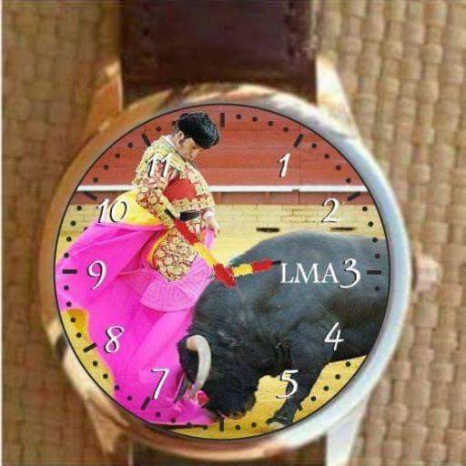 Reloj Tauromaquia personalizado [3]