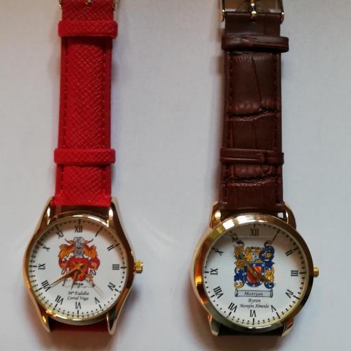 Reloj Personalizado Heráldica [1]