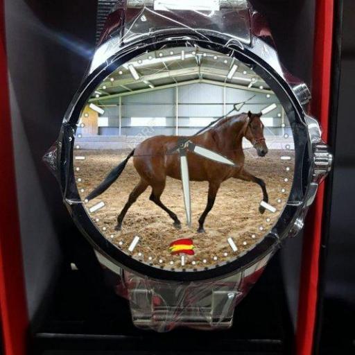 Reloj Personalizado de Acero y eslabones [3]