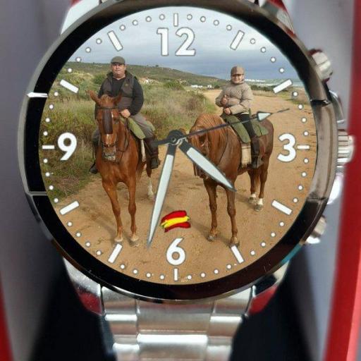 Reloj Personalizado de Acero y eslabones [0]