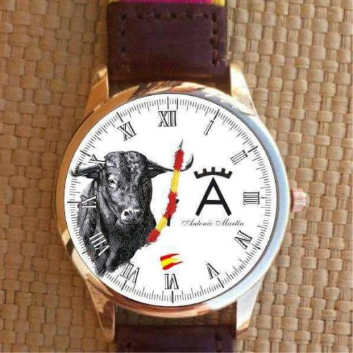 Reloj Tauromaquia y Rejoneo Personalizado [1]