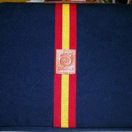 ALMOHADILLA TAURINA  Bandera España.