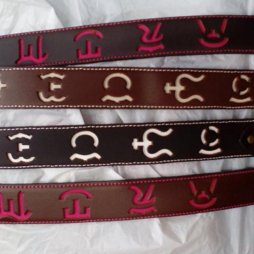 Cinturón Divisas en cuero