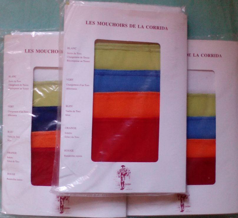 Pañuelos de la Presidencia 5 colores
