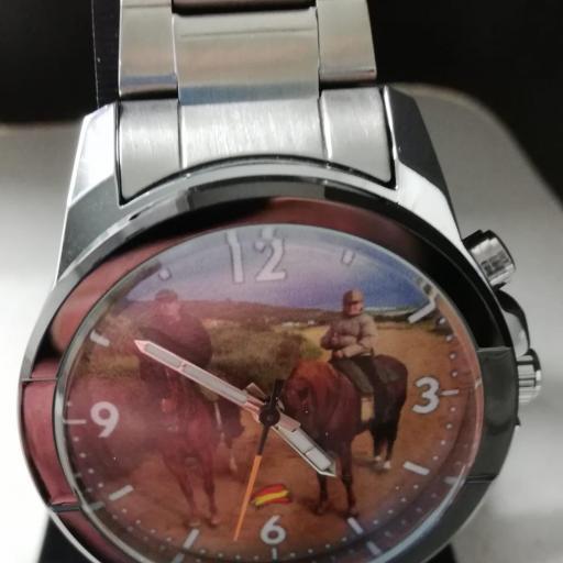 Reloj Personalizado de Acero y eslabones [2]