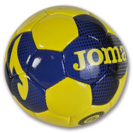T54 PACK 12 BALON SALA INDOOR AMARILLO-AZUL