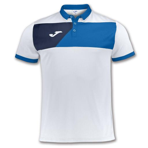 POLO JOMA CREW II BLANCO-ROYAL M/C 100679.207