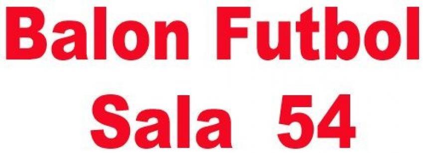 FUTBOL SALA 54