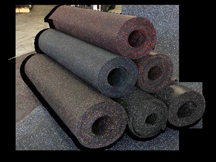 Rollo de caucho 6 mm Colores