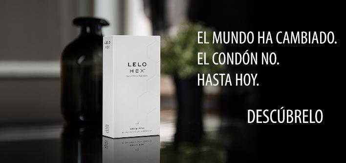 Preservativos HEX LELO