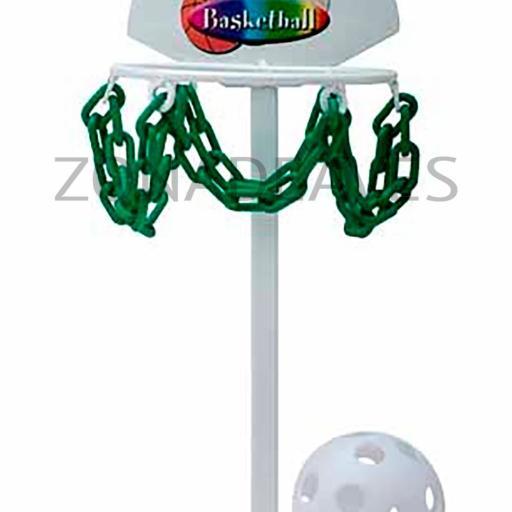 Canasta baloncesto para loros grande