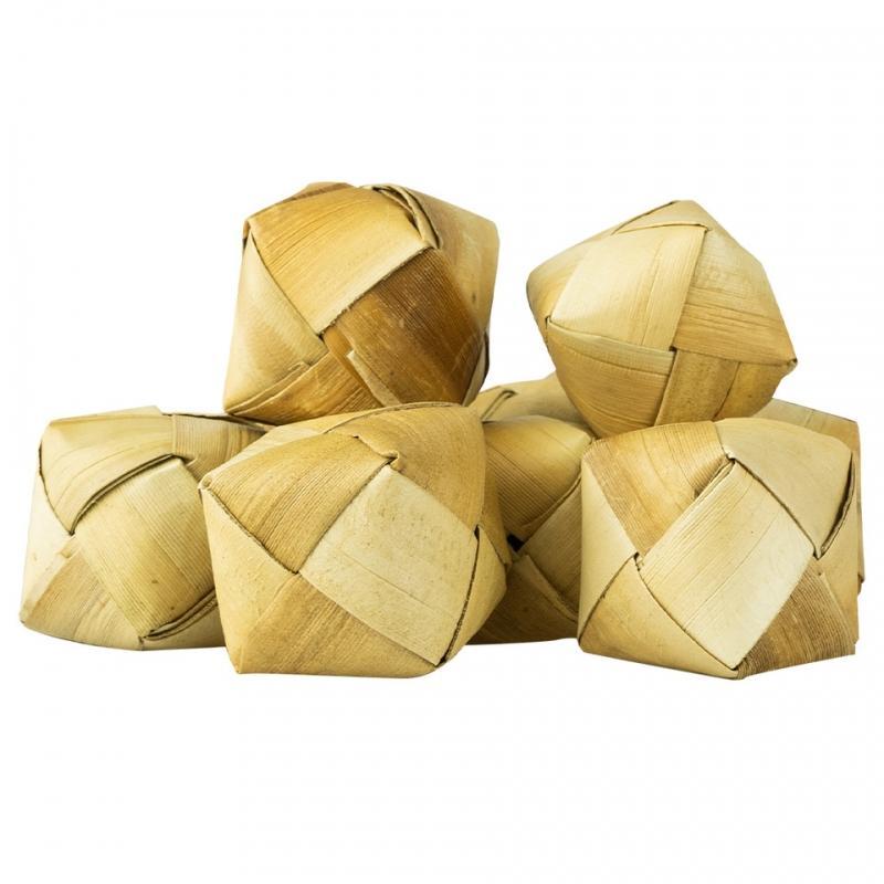 Cubitos de hoja de palma