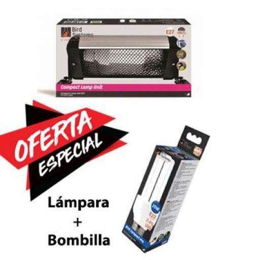 Pack Lámpara y Bombilla Bird Systems